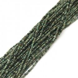 Turkus afrykański naturalny kulka 2mm sznurek