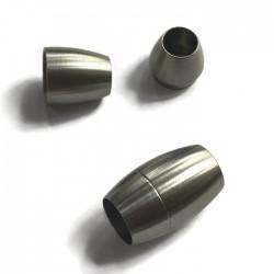 Zapięcie magnetyczne 18x10mm stal nierdzewna