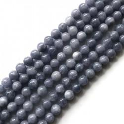 Kwarc kulka 10mm błękitny sznurek