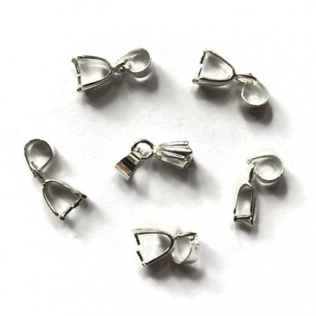Krawatka z łapkami 15x5mm cyna