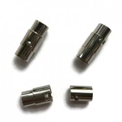 Zapięcie magnetyczne 18x7mm stal nierdzewna