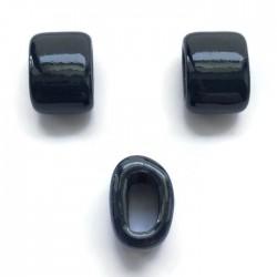 Koralik przekładka ceramiczna 20x10mm granat