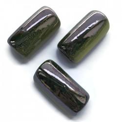 Tunel rurka ceramiczna 36mm zielony mix