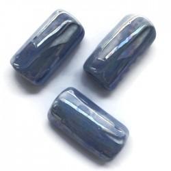 Tunel rurka ceramiczna 36mm błękitny