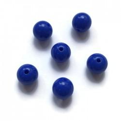 Kulki, koraliki plastikowe granat 10mm