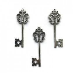 Zawieszka kluczyk 57x22mm cyna