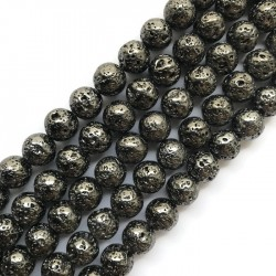 Hematyt kulka 10mm sznurek czarny