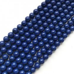 Turkus syntetyczny kulka 10mm sznurek granat