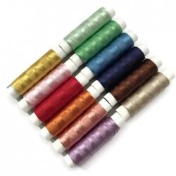 Nici jedwabne zestaw mix kolorów 12szt