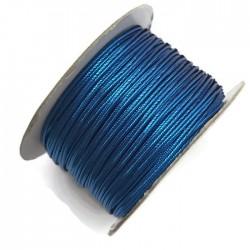 Sznurek sutasz metalizowany niebieski 2,7mm soutache