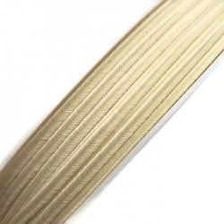 Sznurek sutasz kremowy PEGA acetate 3mm Y1209 soutache