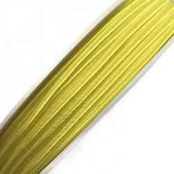 Sznurek sutasz żółty neon PEGA acetate 3mm Y7230 soutache