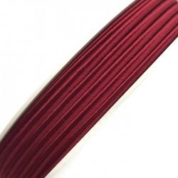 Sznurek sutasz ciemny czerwony PEGA acetate 3mm Y8510 soutache