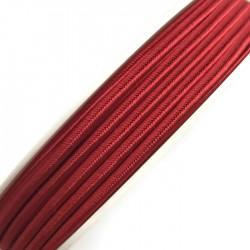 Sznurek sutasz czerwony PEGA acetate 3mm Y7510 soutache