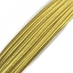 Sznurek sutasz żółty PEGA wiskoza 3mm A4201 soutache