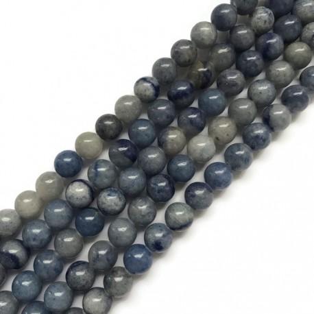 Awenturyn niebieski 8mm  sznurek