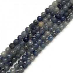 Awenturyn niebieski 6mm  sznurek