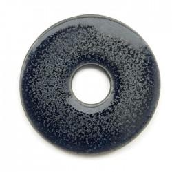 Ceramiczna zawieszka wisior donut granat 55mm