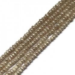 Perła naturalna hodowlana  2.8~3.2mm sznurek