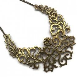Podstawa naszyjnika ornament kolor złoty