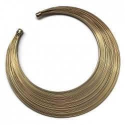 Podstawa naszyjnika druty, kolor złoty