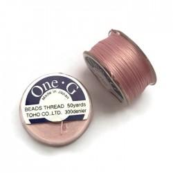 Nici One-G nylonowe 0,25mm Pink szpulka