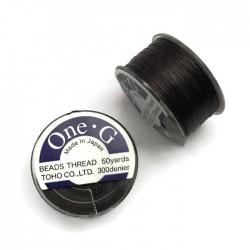 Nici One-G nylonowe 0,25mm Brown szpulka