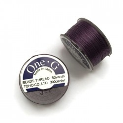 Nici One-G nylonowe 0,25mm Purple szpulka