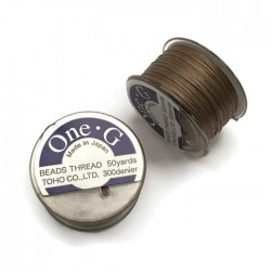 Nici One-G nylonowe 0,25mm Sand Ash szpulka