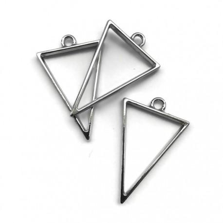 Zawieszka, Baza do żywicy 39x25mm trójkąt