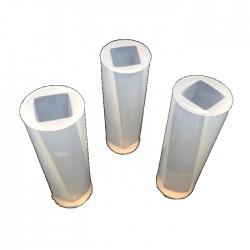 Forma do żywicy forma silikonowa do odlewów 50x16mm kolumna