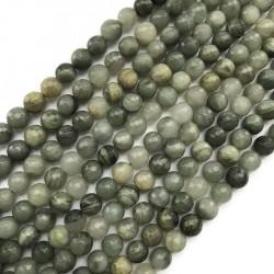 Jaspis kulka 8mm mix zielony sznurek
