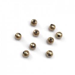 Przekładka kulka  4x3,5mm stal nierdzewna złota
