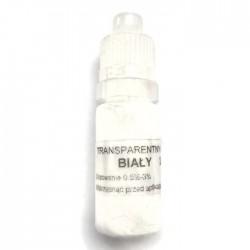 Barwnik transparentny do żywic, kolor biały 2ml