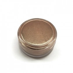 Pigment perłowo - metaliczny, sypki do żywicy, kolor brązowy 3g