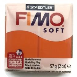 Masa termoutwardzalna FIMO Soft modelina, kolor Mandarin