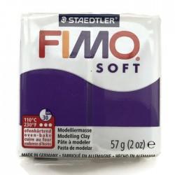 Masa termoutwardzalna FIMO Soft modelina, kolor Fiolet Plum