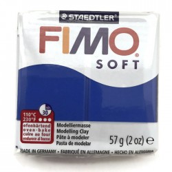 Masa termoutwardzalna FIMO Soft modelina, kolor brilliant Blue