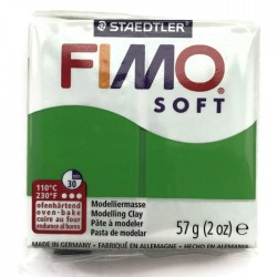 Masa termoutwardzalna FIMO Soft modelina, kolor Tropical Green