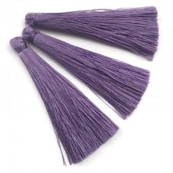 Chwosty frędzle z wiskozy 65mm jasny fiolet lila