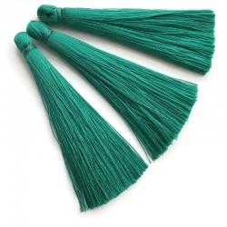 Chwosty frędzle z wiskozy 65mm zielony