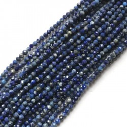 Lapis Lazuli kulka 2mm sznurek