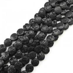 Lawa wulkaniczna pastylka 14mm czarny