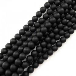 Black Stone kulka 10mm czarny matowy sznurek