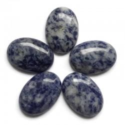 Jaspis kaboszon 25x18mm kamień do soutache i haftu