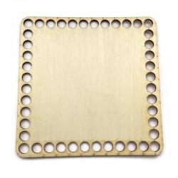 Baza drewniana, dno do koszyka, denko kwadrat 15cm sklejka