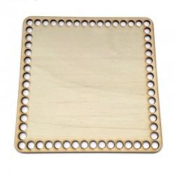 Baza drewniana, dno do koszyka, denko kwadrat 20cm sklejka