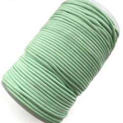 Indyjski Sznurek bawełniany woskowany 2mm - seledyn