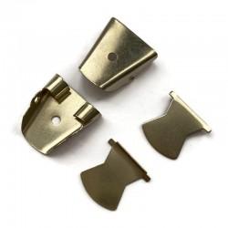 Mechanizm do bolo, krawat kowbojski, biżuteria męska, stare złoto 27x20mm
