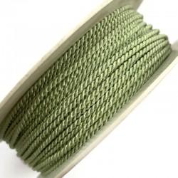 Sznurek ozdobny do sutaszu jasno zielony PEGA 2mm A1801 soutache